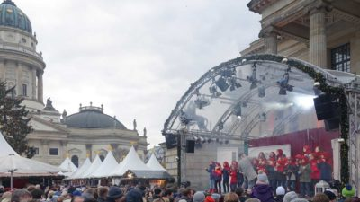 Advents-Singen am 1. Advent @ Gendarmenmarkt Berlin