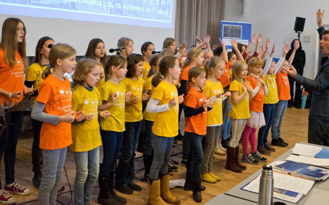 Chorauftritt bei der Deutsche Friedensgesellschaft