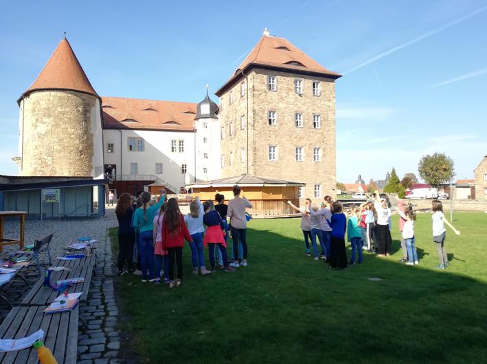 Unsere Chorfahrt 2019 auf die Wasserburg Heldrungen in Thüringen