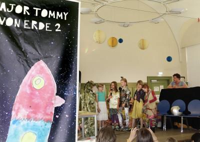 Major Tommy von Erde 2 in der Ludwig Hoffmann Grundschule